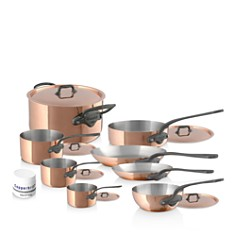 Mauviel - M'150C2 Copper 14-Piece Cookware Set