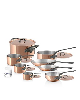 Mauviel - M'150C2 Copper 14-Piece Cookware Set