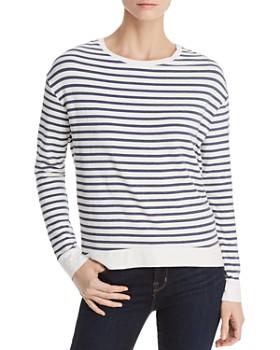 8f8ff154e79 Majestic Filatures - Lightweight Striped Sweatshirt ...