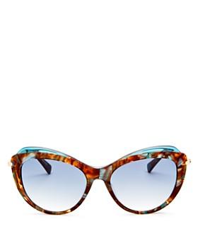 fe3ea0568c3 Longchamp Cat Eye Luxury Sunglasses  Women s Designer Sunglasses ...