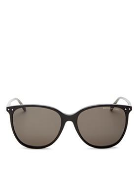 Bottega Veneta - Women's Square Sunglasses, 56mm