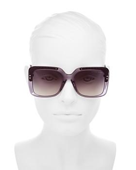 Bottega Veneta - Women's Square Sunglasses, 54mm