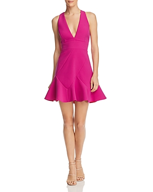 Bcbgmaxazria Cutout Mini Dress