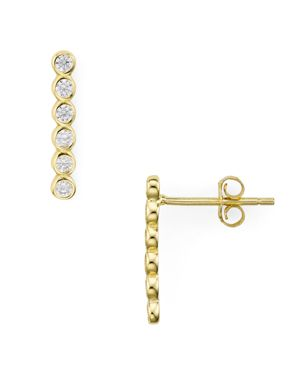PAVE BAR CLIMBER EARRINGS - 100% EXCLUSIVE