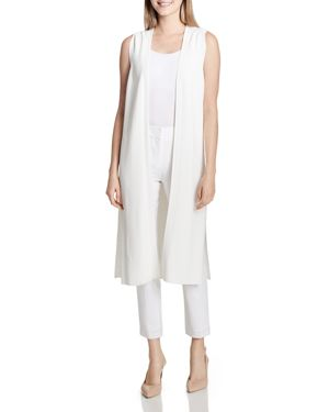 Calvin Klein Open-Front Sweater-Knit Duster Vest 2899314