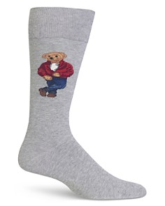 Polo Ralph Lauren James Dean Bear Socks - Bloomingdale's_0