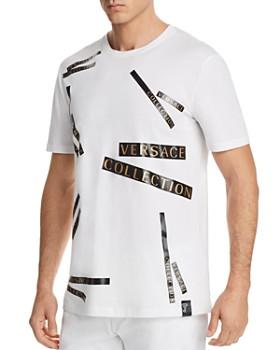 Versace Collection - Logo Tape Crewneck Tee