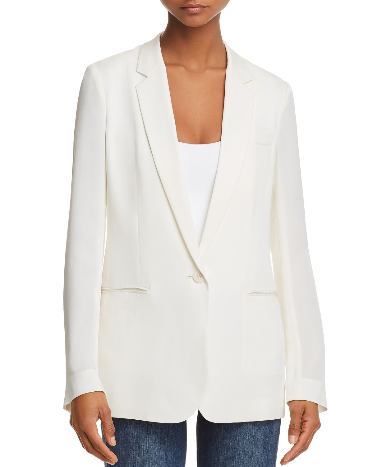 Grinson Silk Blazer by Theory
