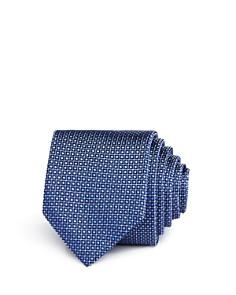 HUGO Micro Grid Dot Skinny Tie - Bloomingdale's_0