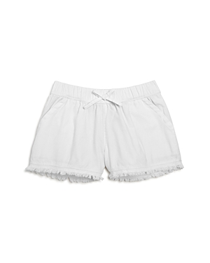 Splendid Girls Frayed Cotton Shorts  Big Kid