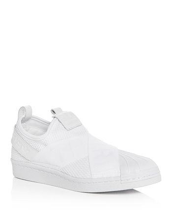 Adidas - Women's Superstar Slip-On Sneakers