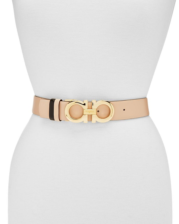 180747caffd5 Salvatore Ferragamo Women's Adjustable & Reversible Gancini Belt ...