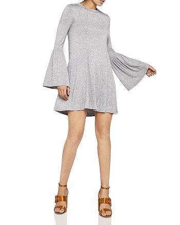 BCBGeneration - Bell Sleeve Cutout Dress