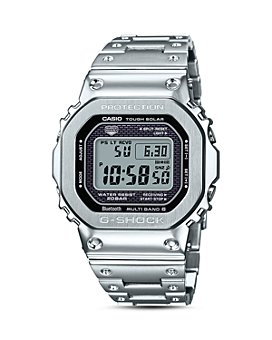 G-Shock - Masterpiece Silver-Tone Watch, 42.8mm x 48.9mm