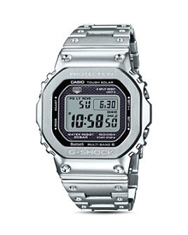 G-Shock - Masterpiece Silver-Tone Watch, 42.8mm x 48.9mm