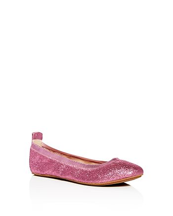 Yosi Samra - Girls' Miss Samara Glitter Ballet Flats - Toddler, Little Kid, Big Kid