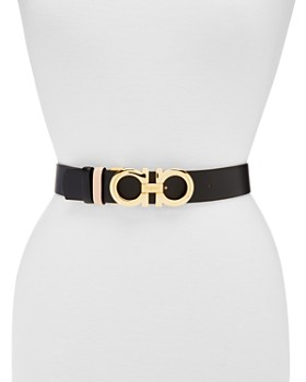 Salvatore Ferragamo - Women's Adjustable & Reversible Gancini Belt