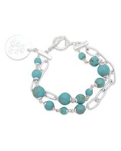 Lauren Ralph Lauren Link and Stone Double Strand Pendant Bracelet - Bloomingdale's_0
