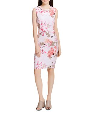 Calvin Klein Sleeveless Floral-Print Dress 2950718