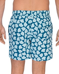 TOM & TEDDY - Shell Print Swim Trunks