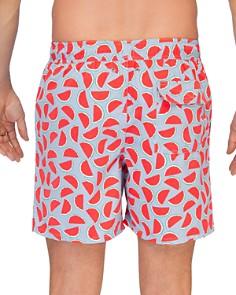TOM & TEDDY - Watermelon Print Swim Trunks