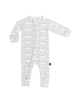 Huxbaby - Unisex Nerd Bear Zip Romper - Baby