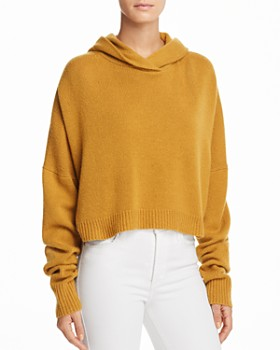 Theory - Cashmere Drop Shoulder Hoodie