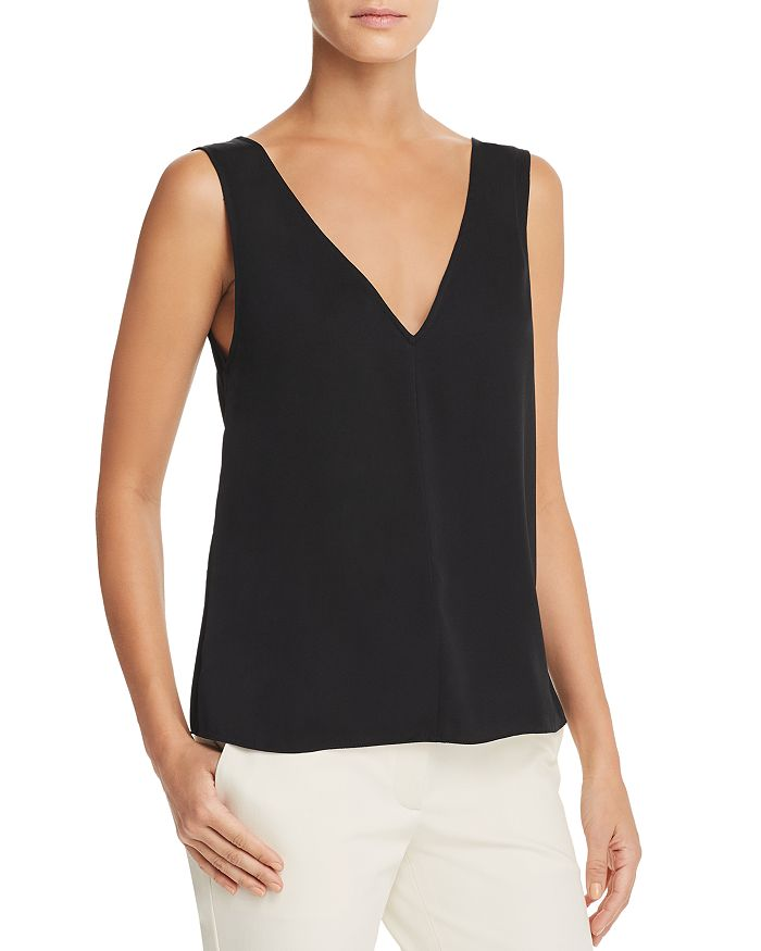 b007e2782b801 Theory - Stretch Silk Tank