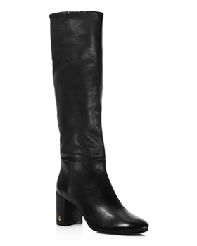 70a2d0e0d9888 Tory Burch - Women s Brooke Slouchy Leather Tall Boots ...