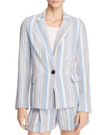 AQUA - Striped Blazer - 100% Exclusive