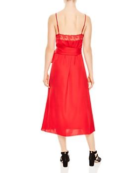 Sandro - Ismere Lace-Trim Dress