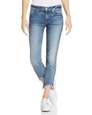 7 For All Mankind Roxanne Ankle Straight Jeans in Canyon Ranch 2961717