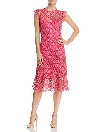 588037f87a58d Elie Tahari Florance Floral-Lace Dress | Bloomingdale's