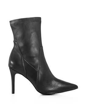 Charles David - Women's Laurent Stretch Leather Pointed Toe Booties
