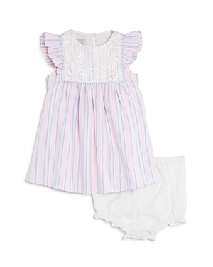 Pippa  Julie Girls Striped Dress  Bloomers Set  Baby