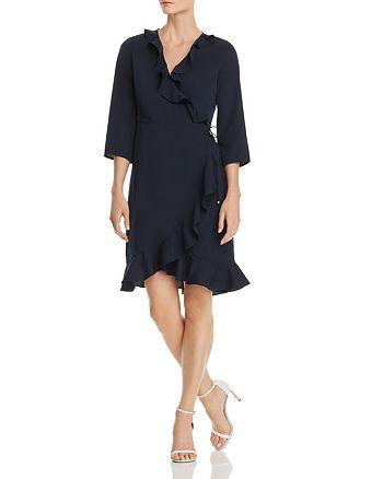 Vero Moda - Molly Ruffled Wrap Dress