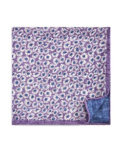 The Men's Store at Bloomingdale's Daisy Reversible Pocket Square_0