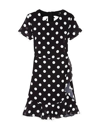 f393e77047b5 Bardot Junior Girls' Kiera Spot Dress - Big Kid   Bloomingdale's