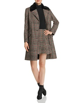 McQ Alexander McQueen - Plaid Mini Skirt