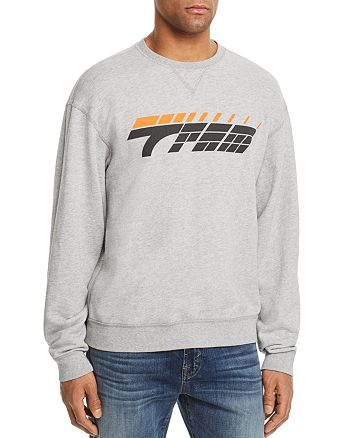 7 For All Mankind - Los Angeles Reversible Logo Crewneck Sweatshirt