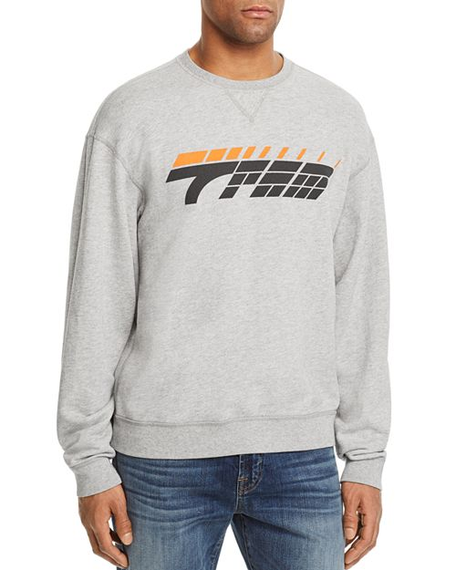 7 For All Mankind - Los Angeles Reversible Logo Crewneck Sweatshirt