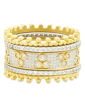 Freida Rothman - Fluer Bloom Stackable Rings