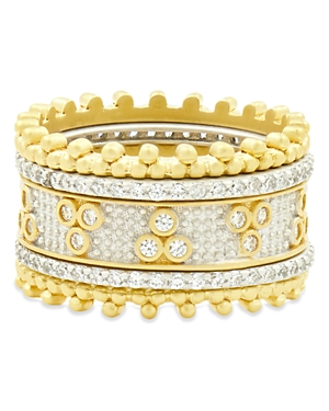 Freida Rothman Fluer Bloom Stackable Rings