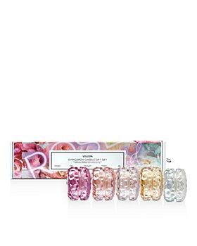 Voluspa - Roses Macaron Candle Gift Box, Set of 5
