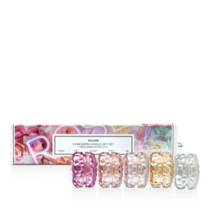Voluspa Roses Macaron Candle Gift Box, Set of 5