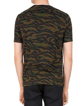 The Kooples - Slub Guitar Camo Tee