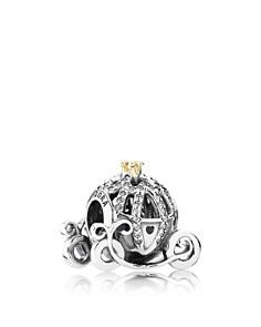 PANDORA Sterling Silver Disney Cinderella's Pumpkin Coach Charm - Bloomingdale's_0