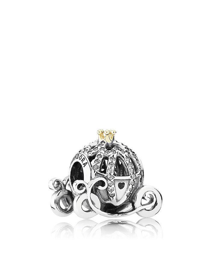 Pandora - Sterling Silver Disney Cinderella's Pumpkin Coach Charm