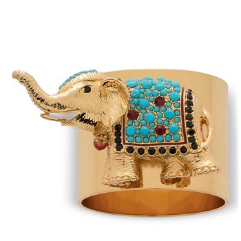 Joanna Buchanan - Elephant Napkin Rings, Set of 2