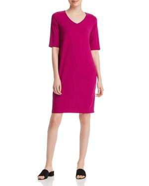 Eileen Fisher V-Neck Shift Dress 2966366